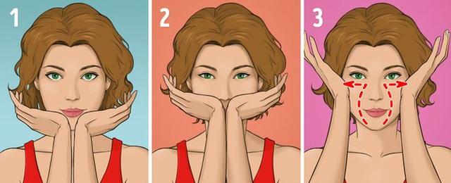 Được coi là phương pháp giúp khuôn mặt trẻ hơn 10 tuổi mà không tốn kém, chị em tiếc gì 5 phút mỗi ngày mà không thực hiện ngay - Ảnh 10.