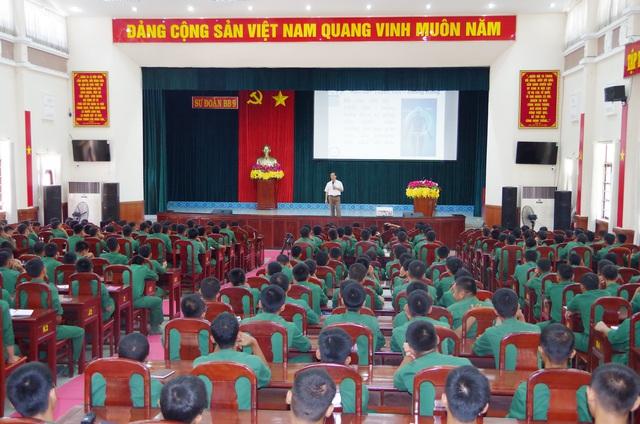 Truyền thông chăm sóc sức khỏe sinh sản, sức khỏe tình dục cho thanh niên trong quân đội - Ảnh 1.