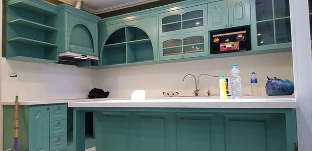 Những căn bếp với không gian xanh mướt, tuyệt đẹp, đảm bảo chị em vừa nhìn chỉ muốn lao vào nấu nướng ngay - Ảnh 2.