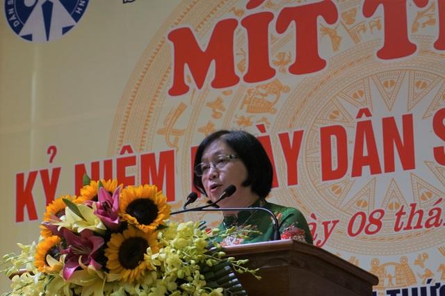 Hà Nội tổ chức Mít tinh kỷ niệm Ngày Dân số Thế giới 11/7 - Ảnh 1.