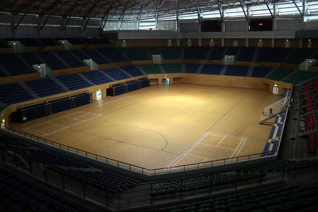 Mục sở thị cung thể thao gần 100.000m2 biến thành bệnh viện dã chiến ở Đà Nẵng - Ảnh 4.
