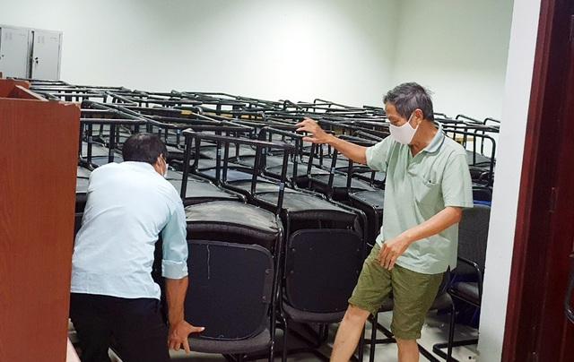 Mục sở thị cung thể thao gần 100.000m2 biến thành bệnh viện dã chiến ở Đà Nẵng - Ảnh 9.