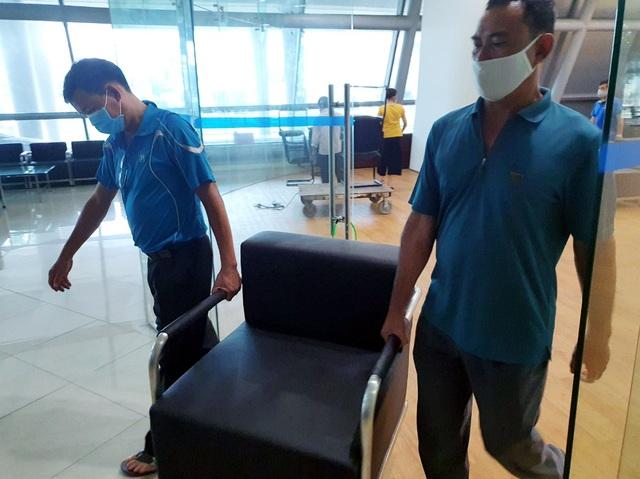 Mục sở thị cung thể thao gần 100.000m2 biến thành bệnh viện dã chiến ở Đà Nẵng - Ảnh 10.