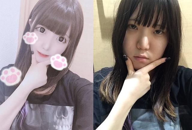 Nổi tiếng xinh như búp bê, hot girl Nhật bị bóc mẽ nhan sắc thật - Ảnh 2.