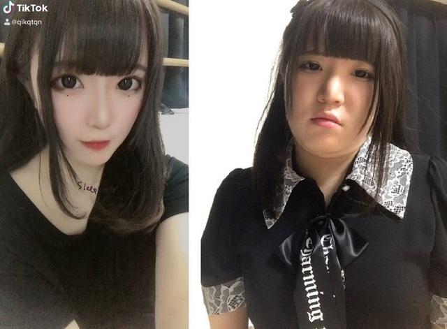 Nổi tiếng xinh như búp bê, hot girl Nhật bị bóc mẽ nhan sắc thật - Ảnh 3.