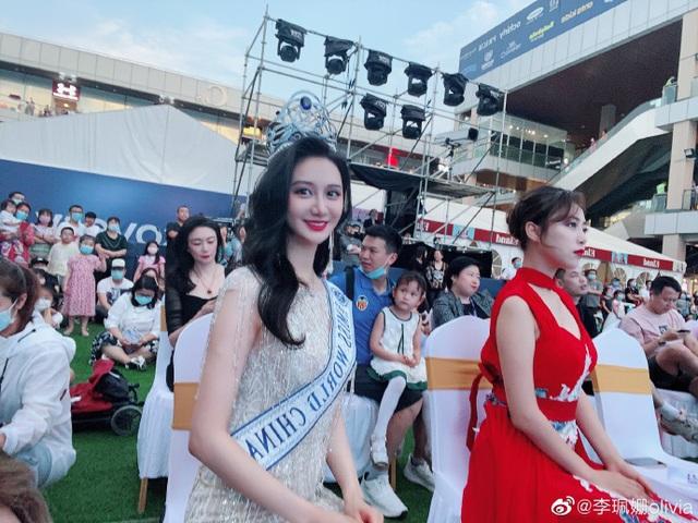 Diễn áo tắm giữa phố và sự bát nháo của cuộc thi hoa hậu ở Trung Quốc - Ảnh 3.
