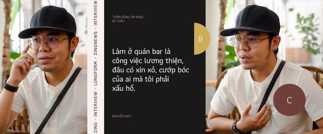 Thần đồng âm nhạc bé Châu ở tuổi 23: Tôi làm nhân viên quán bar để mưu sinh - Ảnh 6.