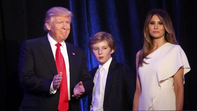 Barron Trump và cuộc sống đặc quyền của con trai tổng thống - Ảnh 1.