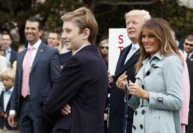 Barron Trump và cuộc sống đặc quyền của con trai tổng thống - Ảnh 2.