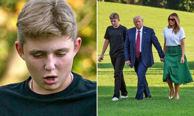Barron Trump và cuộc sống đặc quyền của con trai tổng thống - Ảnh 12.