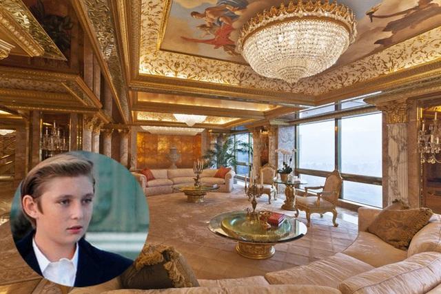 Barron Trump và cuộc sống đặc quyền của con trai tổng thống - Ảnh 3.