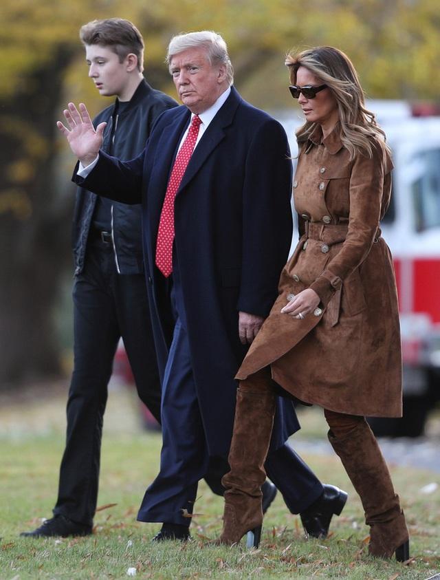 Barron Trump và cuộc sống đặc quyền của con trai tổng thống - Ảnh 4.