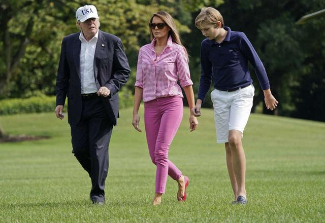 Barron Trump và cuộc sống đặc quyền của con trai tổng thống - Ảnh 10.