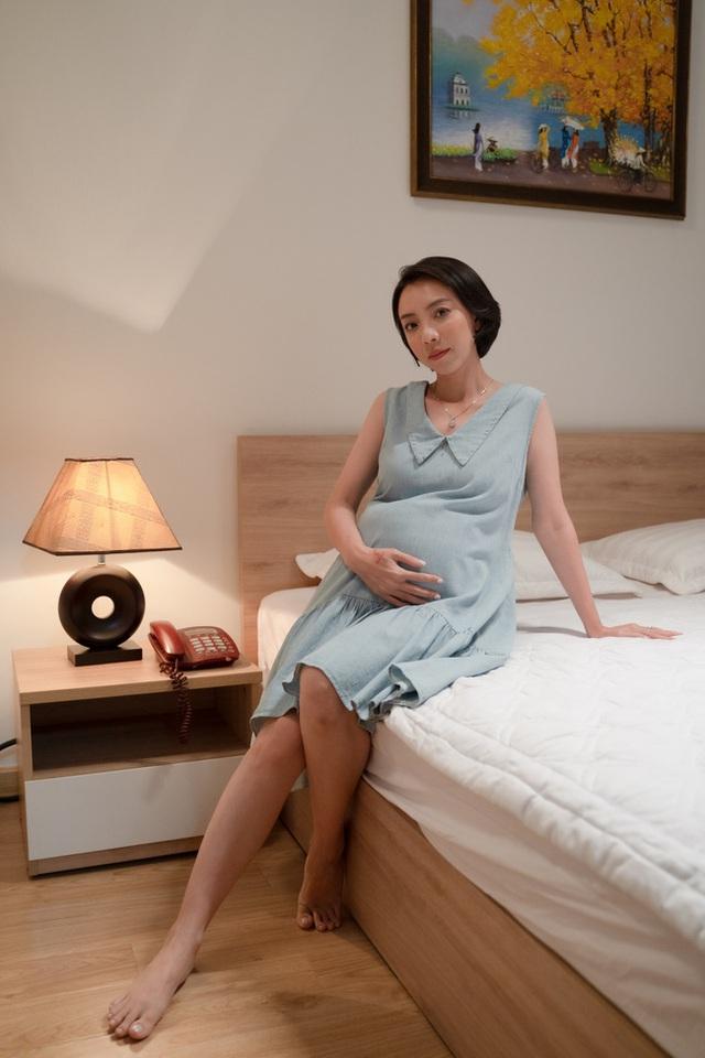Thu Trang khóc ngất khi mang bầu mà bị bỏ rơi, chấp nhận sinh con 1 mình - Ảnh 6.