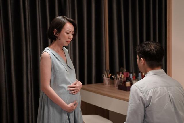 Thu Trang khóc ngất khi mang bầu mà bị bỏ rơi, chấp nhận sinh con 1 mình - Ảnh 8.