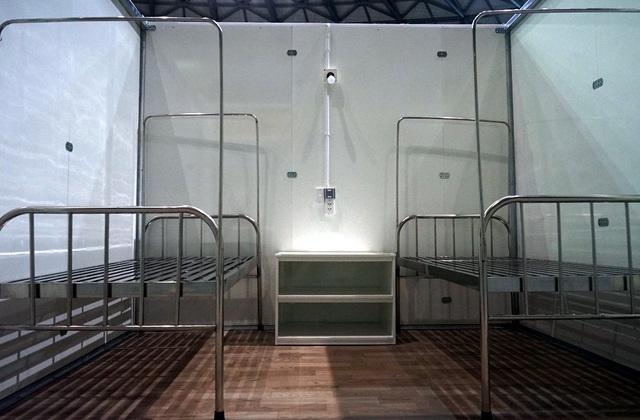Hình ảnh bệnh viện dã chiến tại Đà Nẵng cơ bản hoàn thành sau 72h thi công thần tốc - Ảnh 5.