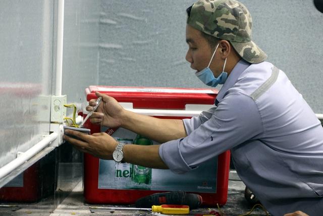 Hình ảnh bệnh viện dã chiến tại Đà Nẵng cơ bản hoàn thành sau 72h thi công thần tốc - Ảnh 20.