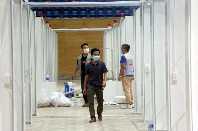 Hình ảnh bệnh viện dã chiến tại Đà Nẵng cơ bản hoàn thành sau 72h thi công thần tốc - Ảnh 9.