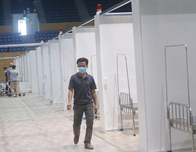 Hình ảnh bệnh viện dã chiến tại Đà Nẵng cơ bản hoàn thành sau 72h thi công thần tốc - Ảnh 10.
