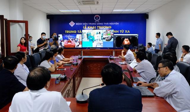 Điểm khác biệt ít nơi có trong Trung tâm Khám, chữa bệnh từ xa tại bệnh viện trực thuộc Bộ đặt tại Thái Nguyên - Ảnh 2.