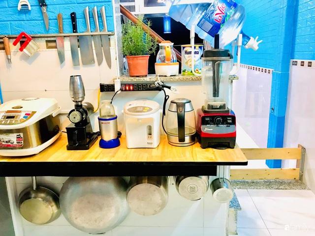 Căn bếp vỏn vẹn chỉ 5m² được ông bố Sài Gòn cải tạo tiện dụng cho việc nấu nướng hàng ngày có chi phí hơn 2 triệu đồng - Ảnh 7.