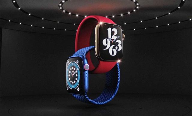 Apple Watch Series 6 ra mắt với màu đỏ mới - Ảnh 1.