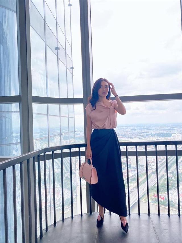 Ninh Dương Lan Ngọc mắc lỗi chọn sai giày giống nhiều chị em công sở, style vì thế mà kém đẹp đi vài phần - Ảnh 1.