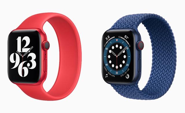Apple Watch Series 6 ra mắt với màu đỏ mới - Ảnh 3.