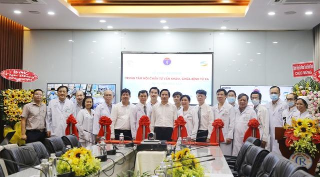 Bệnh viện Chợ Rẫy khai trương Trung tâm hội chẩn tư vấn, khám chữa bệnh từ xa - Ảnh 1.