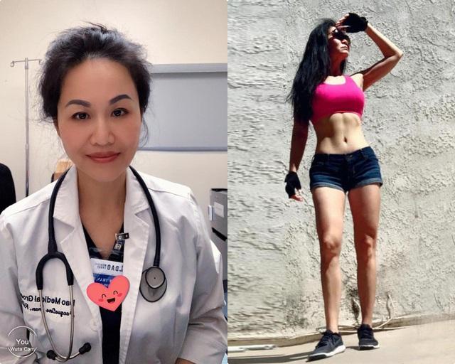U60 مادر 3 فرزند است ، یک پزشک متولد ویتنام به دختری 20 ساله اجازه می دهد دود را با بدن نورد استشمام کند - عکس 2.