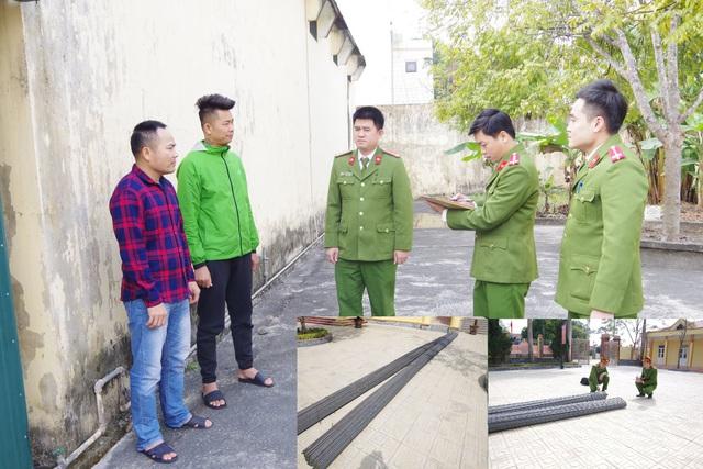 Hà Nam: Bảo vệ móc nối người ngoài trộm hơn 6 tấn sắt của công ty - Ảnh 1.