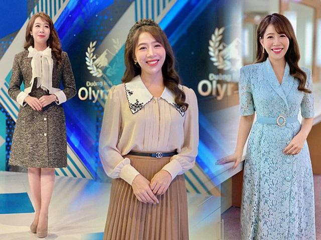 MC Diep Chi عادت خود را برای پوشیدن برای سالهای طولانی آشکار کرد: جامعه آنلاین بلافاصله Song Hye Kyo را ستایش کرد - تصویر 1.