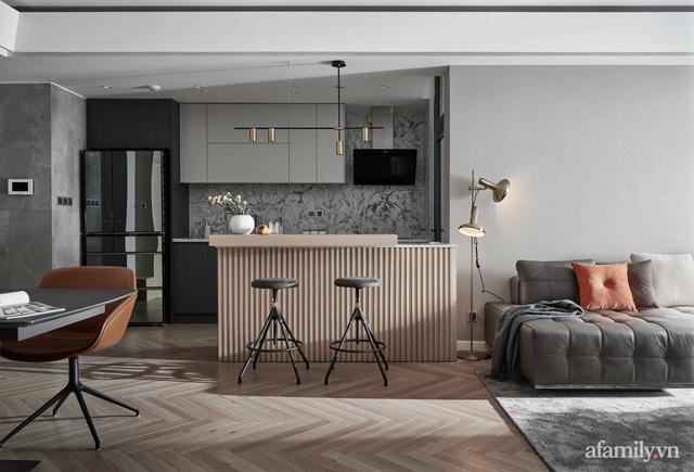 Căn hộ 100m² đẹp như nhà mẫu nhờ nội thất được lựa chọn chuẩn không cần chỉnh ở Hà Nội - Ảnh 1.