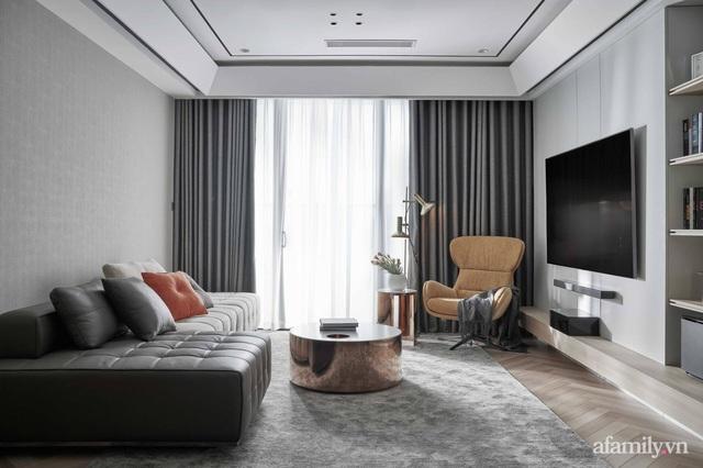 Căn hộ 100m² đẹp như nhà mẫu nhờ nội thất được lựa chọn chuẩn không cần chỉnh ở Hà Nội - Ảnh 2.