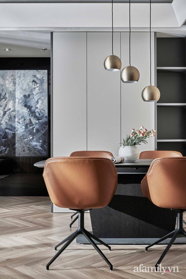 Căn hộ 100m² đẹp như nhà mẫu nhờ nội thất được lựa chọn chuẩn không cần chỉnh ở Hà Nội - Ảnh 12.