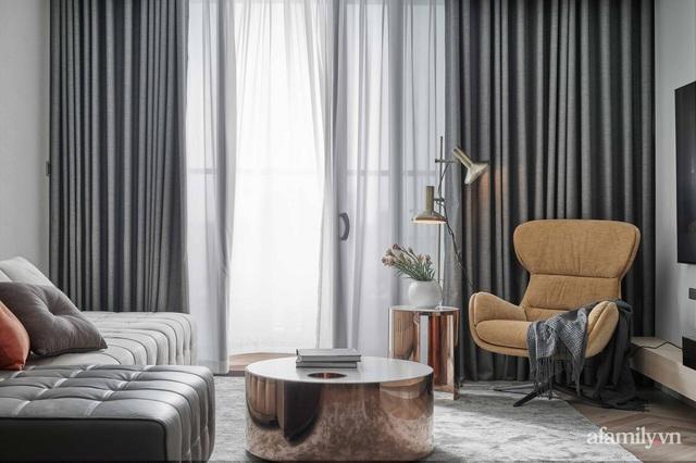 Căn hộ 100m² đẹp như nhà mẫu nhờ nội thất được lựa chọn chuẩn không cần chỉnh ở Hà Nội - Ảnh 3.