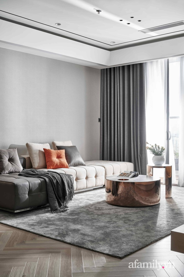 Căn hộ 100m² đẹp như nhà mẫu nhờ nội thất được lựa chọn chuẩn không cần chỉnh ở Hà Nội - Ảnh 4.