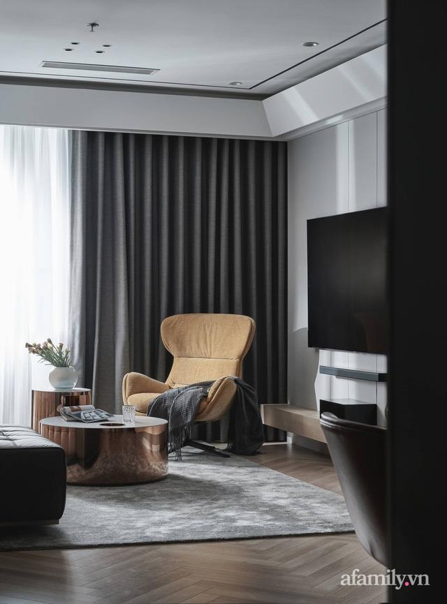 Căn hộ 100m² đẹp như nhà mẫu nhờ nội thất được lựa chọn chuẩn không cần chỉnh ở Hà Nội - Ảnh 5.