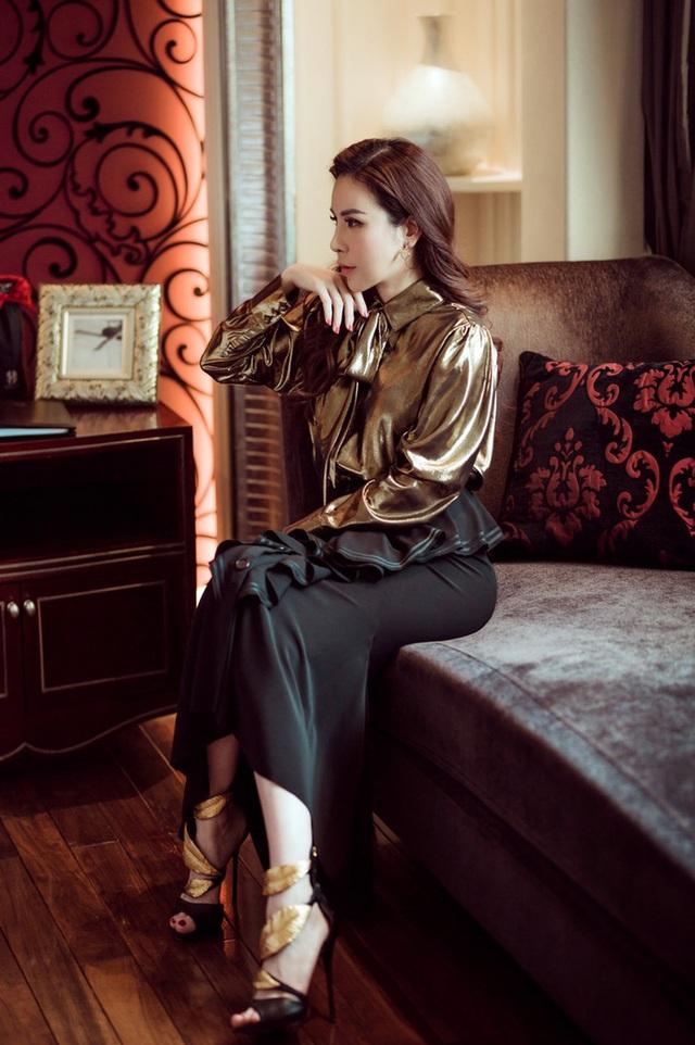 """Hoa hậu Hoàng Dung tiết lộ cách """"mix"""" đồ hiệu - Ảnh 4."""