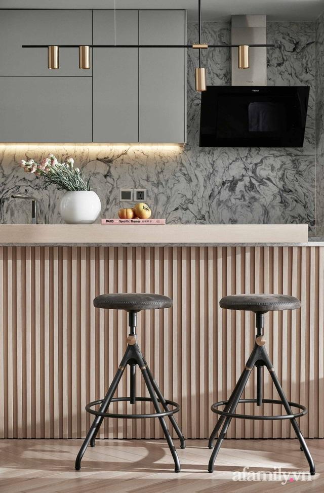 Căn hộ 100m² đẹp như nhà mẫu nhờ nội thất được lựa chọn chuẩn không cần chỉnh ở Hà Nội - Ảnh 8.