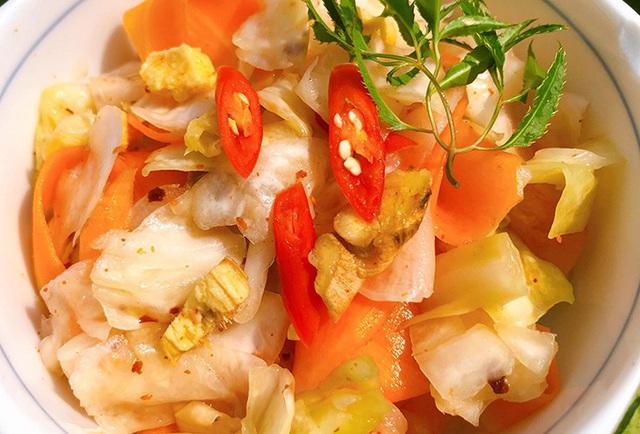 Mê mẩn món kim chi bắp cải chua ngọt và đây là tất tần tật cách làm - Ảnh 3.