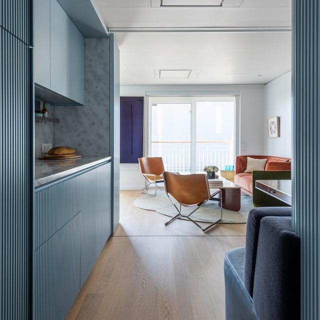 آپارتمان 17 متری با طراحی عالی هم راحت و هم کاربردی است - عکس 1.