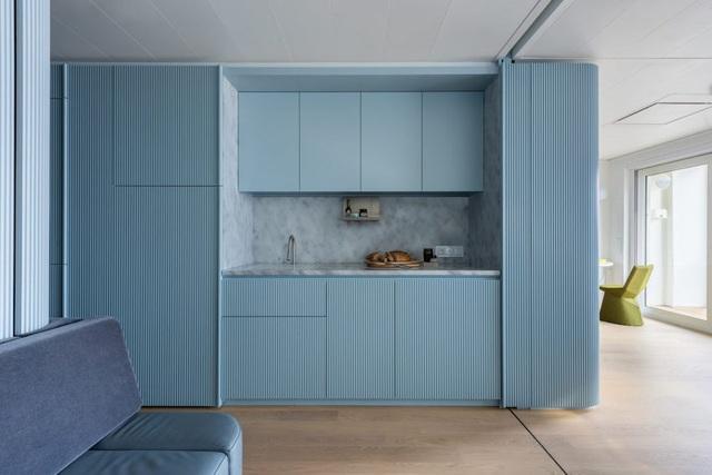آپارتمان 17 متری با طراحی عالی هم راحت و هم کاربردی است - عکس 2.