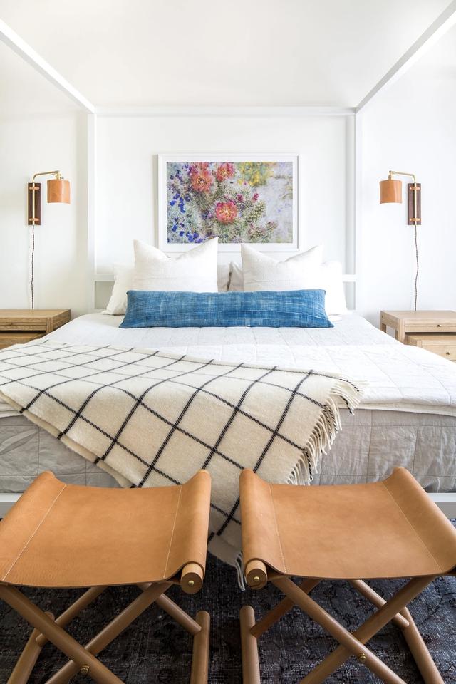 نکات خوب برای بزرگنمایی یک اتاق خواب کوچک - عکس 1.