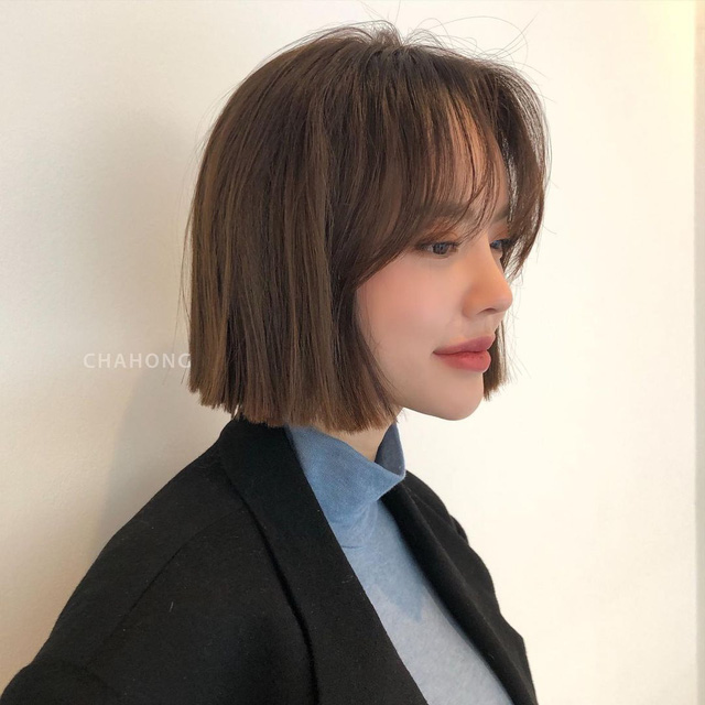 Nếu có ý định ép tóc thẳng thì đây là 4 kiểu siêu sang sẽ giúp nhan sắc của chị em lên một tầm cao mới trong Tết này - Ảnh 8.