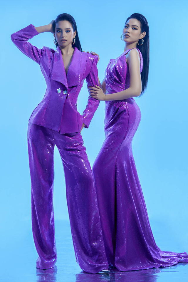 Hai nhan sắc đỉnh cao của Hoa hậu Việt Nam đọ sắc trong thiết kế xuyên thấu - Ảnh 5.