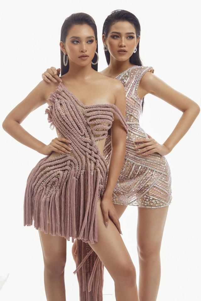 Hai nhan sắc đỉnh cao của Hoa hậu Việt Nam đọ sắc trong thiết kế xuyên thấu - Ảnh 4.