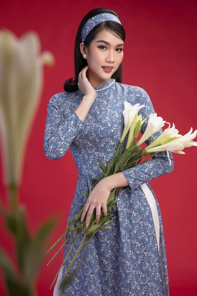 """""""Học lỏm"""" cách """"biến hình"""" thành giai nhân xưa của top 3 Hoa Hậu Việt Nam 2020 - Ảnh 5."""