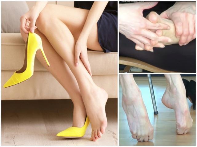 Bài tập giảm đau nhức chân cho những nàng phải đi giày cao gót cả ngày - Ảnh 1.