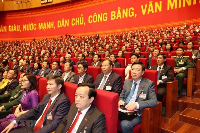 Hình ảnh ngày làm việc thứ ba của Đại hội Đảng - Ảnh 2.